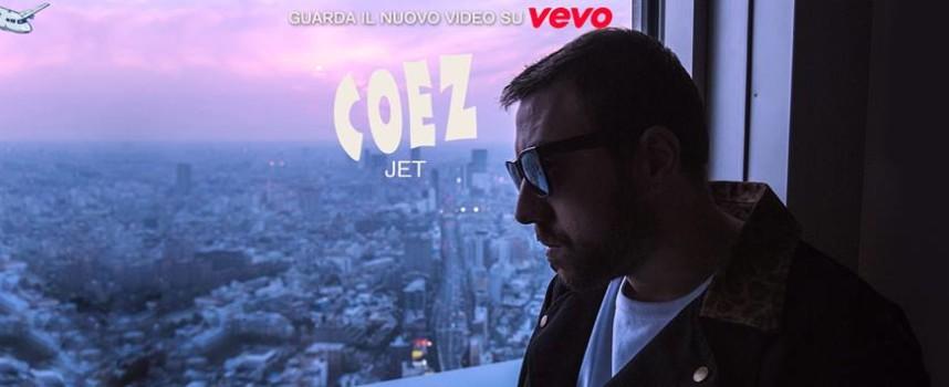 """COEZ pubblica il video ufficiale di """" JET """" ."""