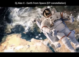 "Dj Alex C pubblica il video""Earth From Space"" in attesa del nuovo EP"