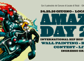 AMAZING DAY 2016 – 9th EDITION – BACK TO THE ROOTS International Hip Hop Culture Festival