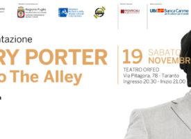 """Gregory Porter in concerto a Taranto con l'Orchestra ICO """"Magna Grecia"""" diretta da Piero Romano"""