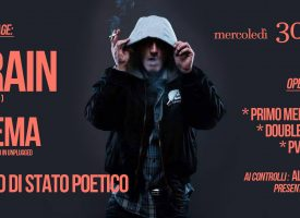 Rap Pirata presente con Brain nel main stage di H OPE N Rhymes VOL.2 at Officina Meca