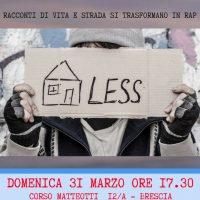 Homeless not Hopeless, Rap Pirata Lombardia per il sociale