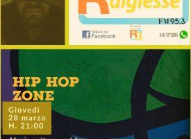"U SNaKe from Rap Pirata Calabria conduce ""Hip Hop Zone""  programma radiofonico su Radiodigiesse"