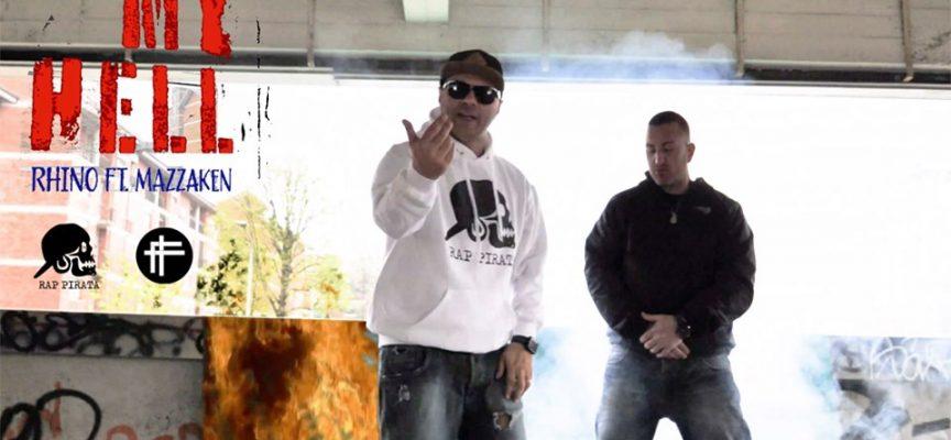 """E' fuori My Hell il secondo estratto dall'album """"Rhi Nascita""""del rapper pugliese Rhino"""