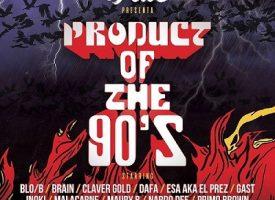 """Dj Fede pubblica un album omaggio agli anni 90: """"Product Of The 90s"""" esce oggi"""