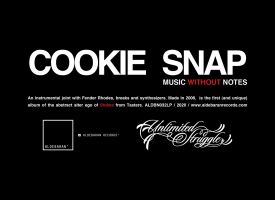 "COOKIE SNAP alias STOKKA: Aldebaran Records pubblica il vinile di ""MUSIC WITHOUT NOTES"", l'album strumentale del noto producer"