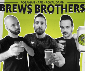 """Versa qui"" è il primo singolo dei Brews Brothers: Ape, Posaman e Royal Damn"
