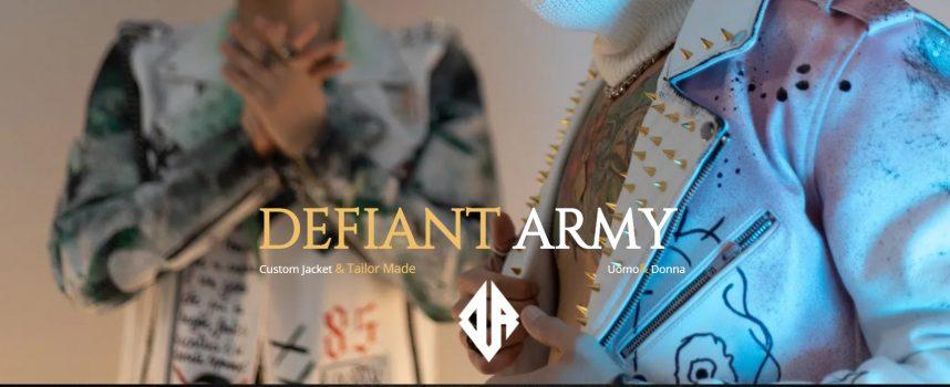 Defiant Army il brand che sta facendo innamorare le celebrities
